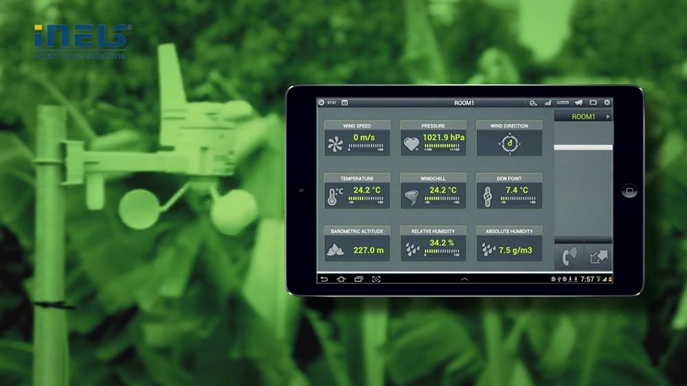 Smart Home rendszer valódi környezetben